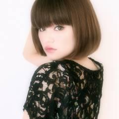 コンサバ 黒髪 大人かわいい ナチュラル ヘアスタイルや髪型の写真・画像