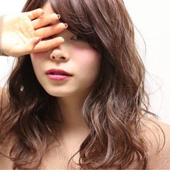 ガーリー グラデーションカラー フェミニン ゆるふわ ヘアスタイルや髪型の写真・画像