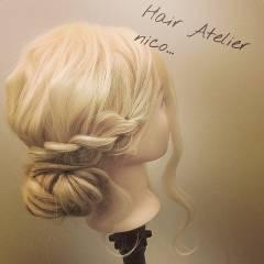 愛され ヘアアレンジ ロング モテ髪 ヘアスタイルや髪型の写真・画像
