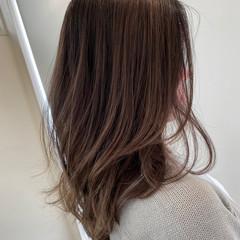 コントラストハイライト ストリート グラデーションカラー ロング ヘアスタイルや髪型の写真・画像