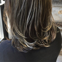 暗髪 ブルージュ ストリート 外国人風 ヘアスタイルや髪型の写真・画像