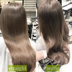 韓国ヘア マットグレージュ ストリート マット ヘアスタイルや髪型の写真・画像