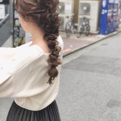 大人かわいい 結婚式 デート ナチュラル ヘアスタイルや髪型の写真・画像