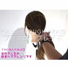 女子会 ポニーテール ヘアアレンジ 簡単ヘアアレンジ ヘアスタイルや髪型の写真・画像