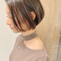 オフィス ショート ベリーショート デート ヘアスタイルや髪型の写真・画像