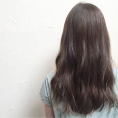 ヘアアレンジ ロング アッシュ グラデーションカラー ヘアスタイルや髪型の写真・画像