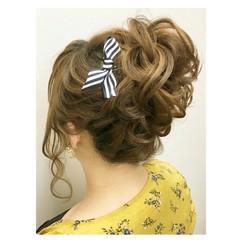 アンニュイ 女子会 ボブ ヘアアレンジ ヘアスタイルや髪型の写真・画像