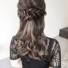 結婚式 ヘアアレンジ パーマ デート ヘアスタイルや髪型の写真・画像