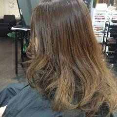 セミロング ガーリー 渋谷系 外国人風 ヘアスタイルや髪型の写真・画像