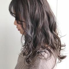透明感 外国人風 外国人風カラー ハイライト ヘアスタイルや髪型の写真・画像