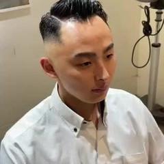 メンズヘア メンズカット ショート スキンフェード ヘアスタイルや髪型の写真・画像