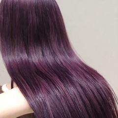 髪質改善 アディクシーカラー トリートメント ロング ヘアスタイルや髪型の写真・画像