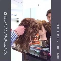 ルーズ フェミニン ミディアム 大人かわいい ヘアスタイルや髪型の写真・画像