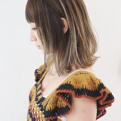 ストリート グラデーションカラー 外国人風カラー バレイヤージュ ヘアスタイルや髪型の写真・画像