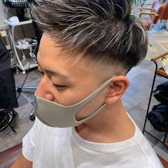 フェードカット スキンフェード ショート ストリート ヘアスタイルや髪型の写真・画像
