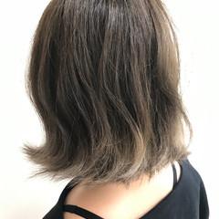 ナチュラル グラデーションカラー ショート 春 ヘアスタイルや髪型の写真・画像