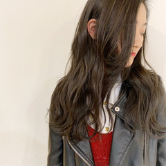 秋 ストリート ゆるふわ ロング ヘアスタイルや髪型の写真・画像