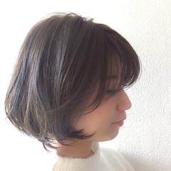 ナチュラル ブルーアッシュ 簡単ヘアアレンジ デート ヘアスタイルや髪型の写真・画像