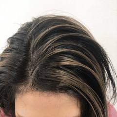 アッシュベージュ ストリート 外国人風カラー ミルクティーベージュ ヘアスタイルや髪型の写真・画像