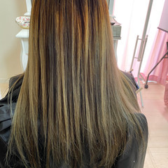 髪質改善 3Dハイライト フェミニン 髪質改善カラー ヘアスタイルや髪型の写真・画像