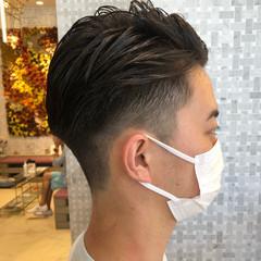 メンズショート メンズヘア ショート フェードカット ヘアスタイルや髪型の写真・画像