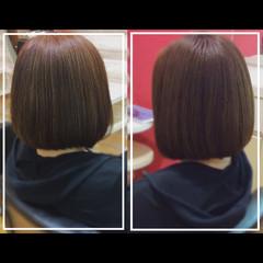 社会人の味方 ナチュラル 大人ヘアスタイル 髪質改善カラー ヘアスタイルや髪型の写真・画像