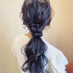 パーティ 結婚式 お呼ばれ ヘアアレンジ ヘアスタイルや髪型の写真・画像