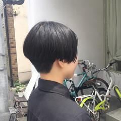 ショート モード ショートボブ 刈り上げ ヘアスタイルや髪型の写真・画像