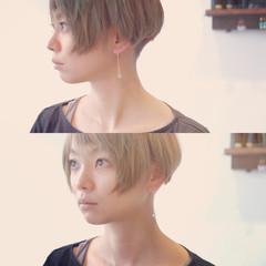 ショート 大人かわいい モード 大人女子 ヘアスタイルや髪型の写真・画像
