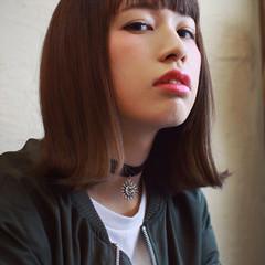 大人女子 ラフ ストリート ボブ ヘアスタイルや髪型の写真・画像