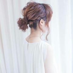 パーティ 簡単ヘアアレンジ 結婚式 ショート ヘアスタイルや髪型の写真・画像