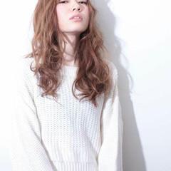 大人かわいい ガーリー パーマ フェミニン ヘアスタイルや髪型の写真・画像