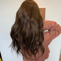 ナチュラル ミルクティーブラウン ショコラブラウン ブラウンベージュ ヘアスタイルや髪型の写真・画像