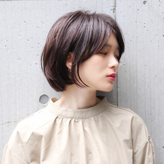 アウトドア ストリート ショート 色気 ヘアスタイルや髪型の写真・画像
