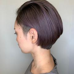 ショートヘア ショート ハイトーン ストリート ヘアスタイルや髪型の写真・画像