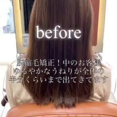 髪質改善 ロングヘア 髪質改善カラー ナチュラル ヘアスタイルや髪型の写真・画像
