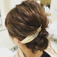 ヘアアレンジ ミディアム 大人女子 ヘアスタイルや髪型の写真・画像