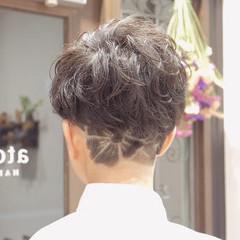 ツーブロック 刈り上げショート ベリーショート フェミニン ヘアスタイルや髪型の写真・画像