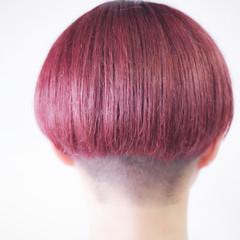 ベリーピンク ラベンダーピンク ピンクバイオレット ピンクラベンダー ヘアスタイルや髪型の写真・画像
