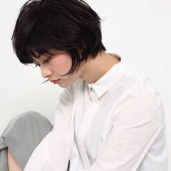 黒髪 暗髪 グラデーションカラー 大人かわいい ヘアスタイルや髪型の写真・画像
