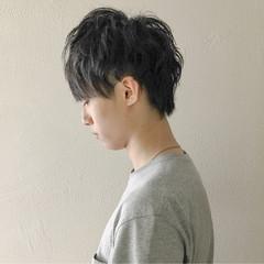 ボーイッシュ 黒髪 ショート マッシュ ヘアスタイルや髪型の写真・画像