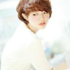 色気 大人かわいい コンサバ ショート ヘアスタイルや髪型の写真・画像