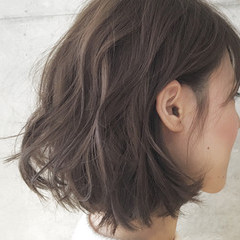 グラデーションカラー ハイライト ボブ 外国人風 ヘアスタイルや髪型の写真・画像