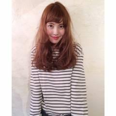 無造作 外国人風カラー ゆるふわ ウェットヘア ヘアスタイルや髪型の写真・画像