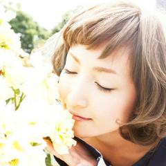 大人かわいい グラデーションカラー 外国人風 アッシュ ヘアスタイルや髪型の写真・画像