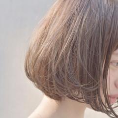 透明感 ミニボブ ガーリー ボブ ヘアスタイルや髪型の写真・画像