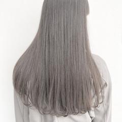 前髪 ロング エレガント 髪質改善トリートメント ヘアスタイルや髪型の写真・画像