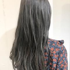 ゆるふわ ウェーブ ロング ダブルカラー ヘアスタイルや髪型の写真・画像
