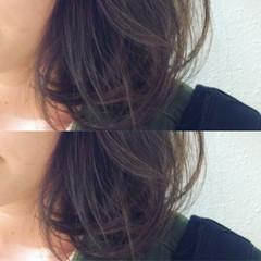 ストリート アッシュ 外国人風 ミディアム ヘアスタイルや髪型の写真・画像
