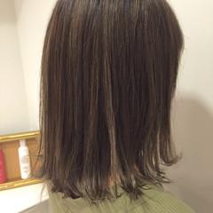 ハイライト 外国人風 ブルージュ グレージュ ヘアスタイルや髪型の写真・画像